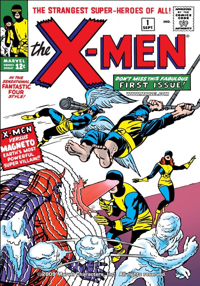 Capa da HQ X-Men 1 (Divulgação/Marvel)