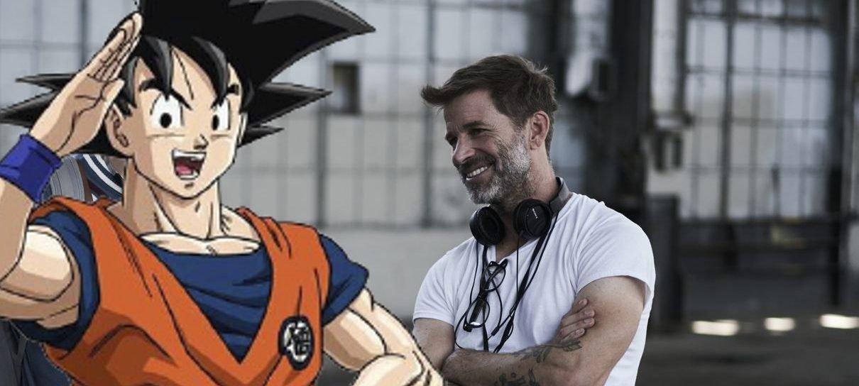 Zack Snyder acha que seria divertido dirigir filme de Dragon Ball Z ou outro anime