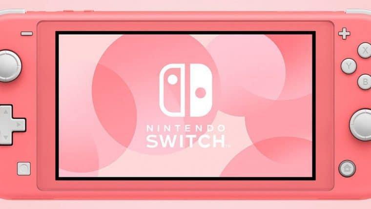 Nintendo Switch Lite chega ao Brasil em setembro por R$ 1899