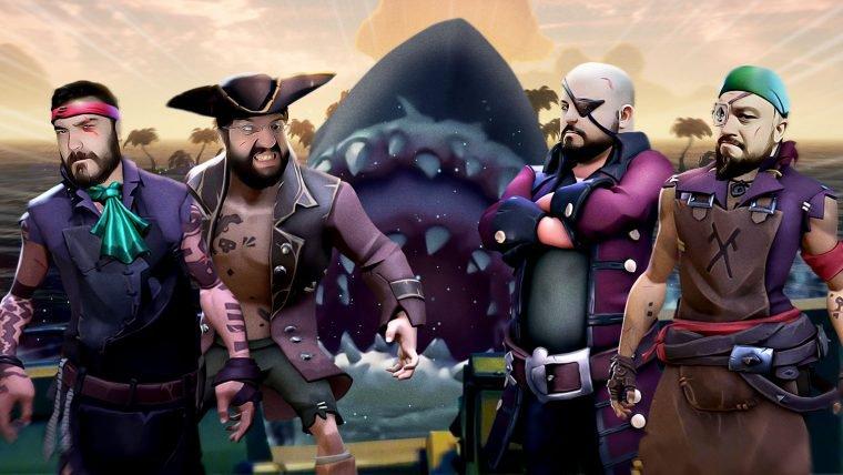 Sea of Thieves - Piratas Cordiais