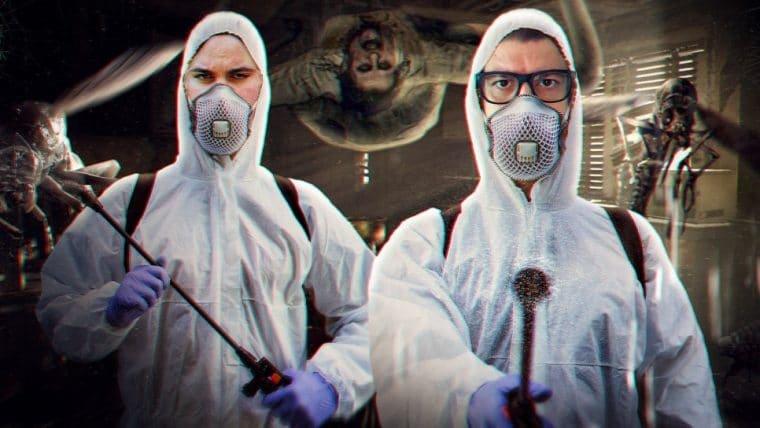 Resident Evil 7: Biohazard - Dedetizando o inferno (facecam)
