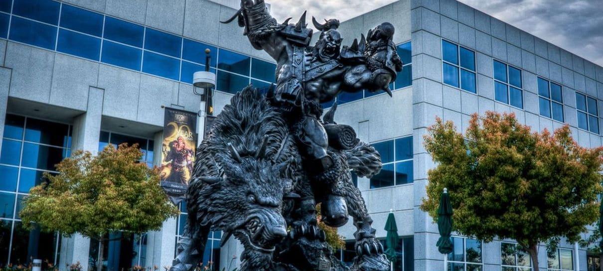 Activision Blizzard é processada por assédio e discriminação no trabalho