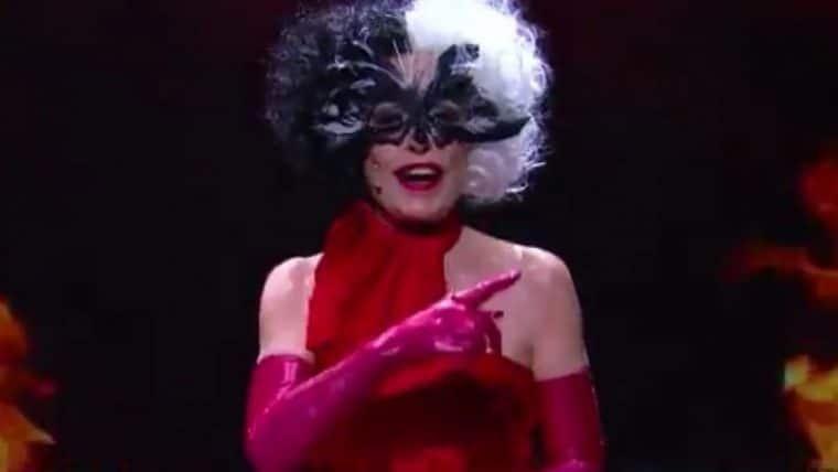 Ana Maria Braga se transforma em Cruella para apresentar o Mais Você
