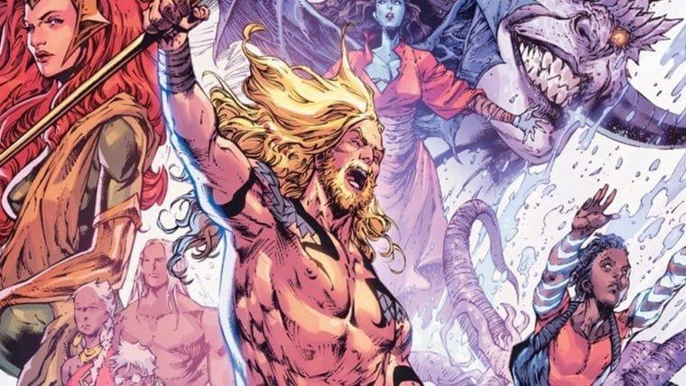 Aquaman vai ganhar HQ especial para comemorar 80 anos; veja