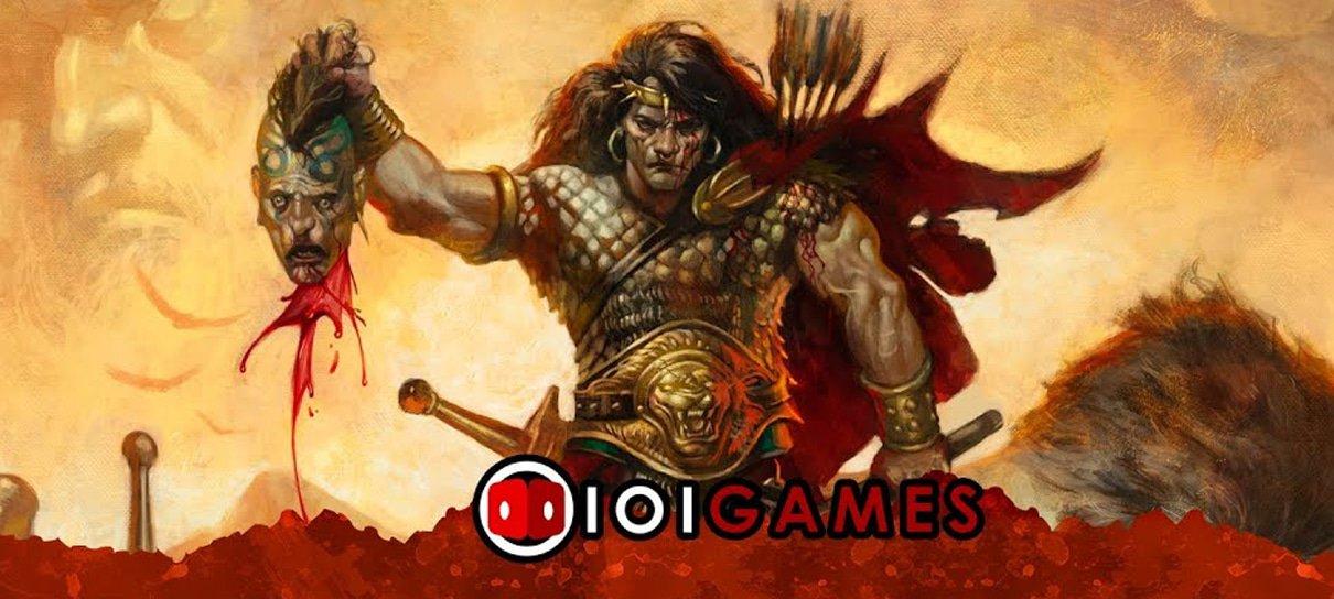 Aventuras na Era Hiboriana, RPG inspirado em Conan, busca financiamento coletivo