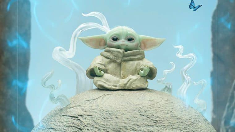 Iron Studios lança novo colecionável do Baby Yoda de The Mandalorian