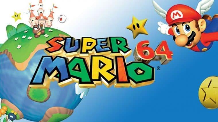 Cartucho lacrado de Super Mario 64 é leiloado por US$ 1,56 milhão e quebra recorde