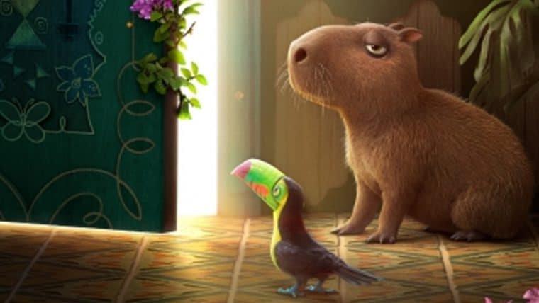 Encanto, nova animação da Disney, ganha pôster com capivara, arara e tucano