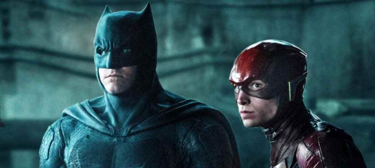 Vídeos dos bastidores de The Flash mostram Batman de Ben Affleck