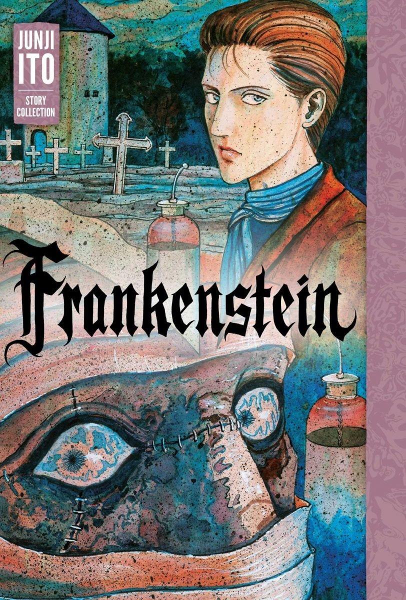 Capa da versão norte-americana de Frankenstein