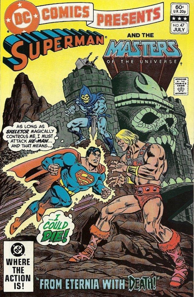 Capa da HQ DC Comics Presents #47 (Divulgação/DC Comics)