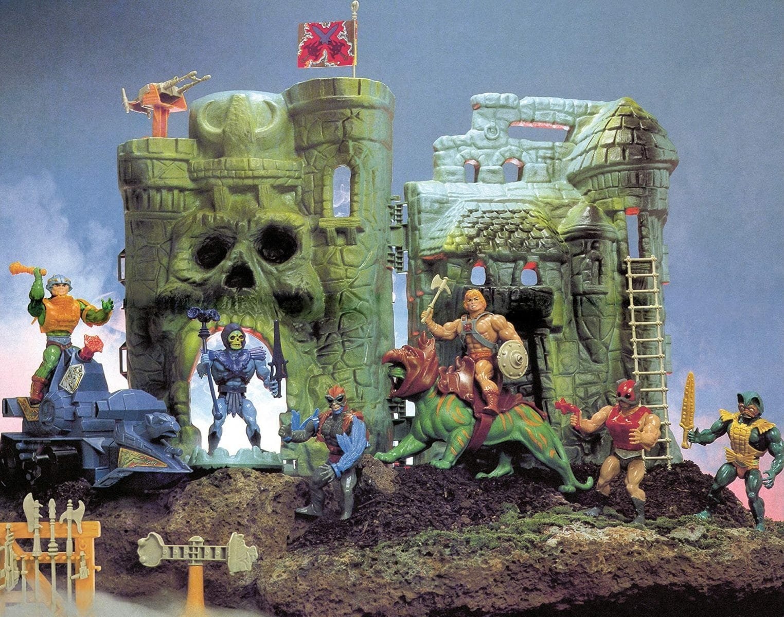 Capa do livro The Toys of He-Man and the Masters of the Universe (Dark Horse Books)