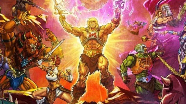 Mestres do Universo: Salvando Eternia, série do He-Man, ganha pôster super detalhado