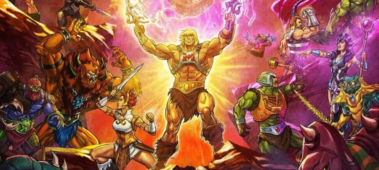 Mestres do Universo: Salvando Eternia, série do He-Man, ganha pôster super  detalhado - NerdBunker