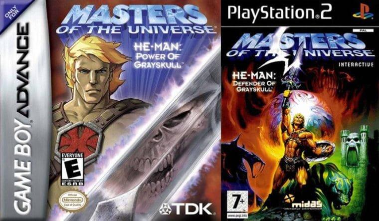 He-Man: Power of Greyskull e Defender of Greyskull, os jogos de He-Man nos anos 2000