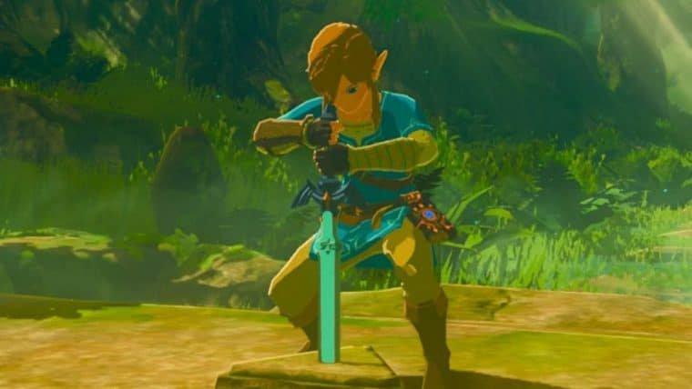 Jogador descobre como pegar a Master Sword com três corações em Zelda: Breath of the Wild