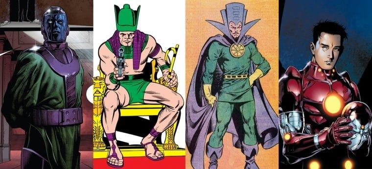 Kang, Rama-Tut, Immortus, Centurião Escarlate e Rapaz de Ferro nas HQs (divulgação/Marvel)