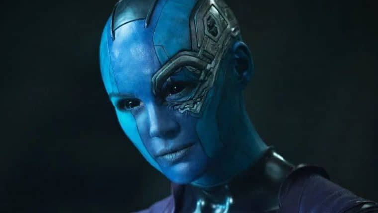Karen Gillan, a Nebula, chorou com o roteiro de Guardiões da Galáxia 3