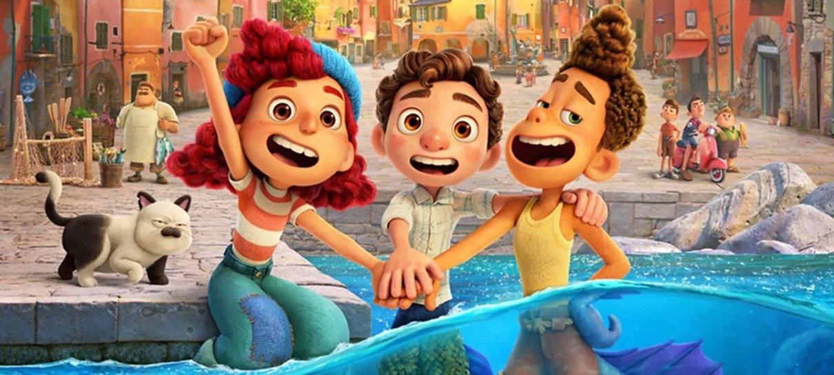 Luca foi o filme mais visto no streaming em sua segunda semana disponível no Disney+