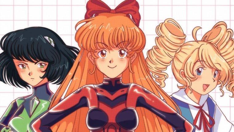 Artista imagina crossover entre As Meninas Superpoderosas e Evangelion