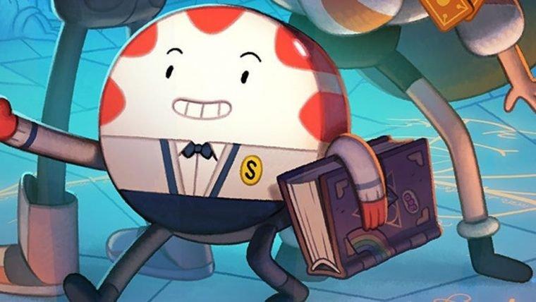 Mordomo Menta é o destaque em arte do novo especial de Hora de Aventura