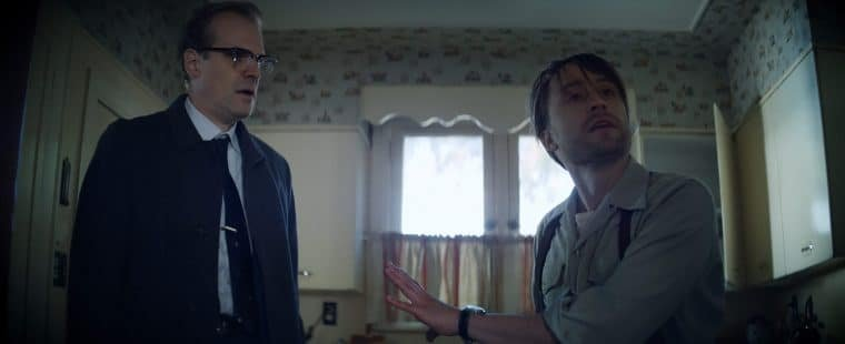 David Harbour e Kieran Culkin em Nem Um Passo em Falso (Divulgação/HBO Max)