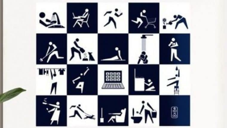 Artista brasileiro cria modalidades da Olimpíada da Quarentena