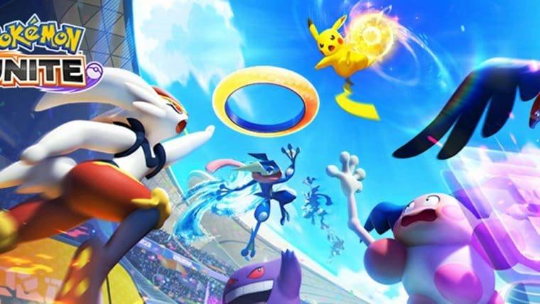 Pokémon Unite ganha data de lançamento no Nintendo Switch