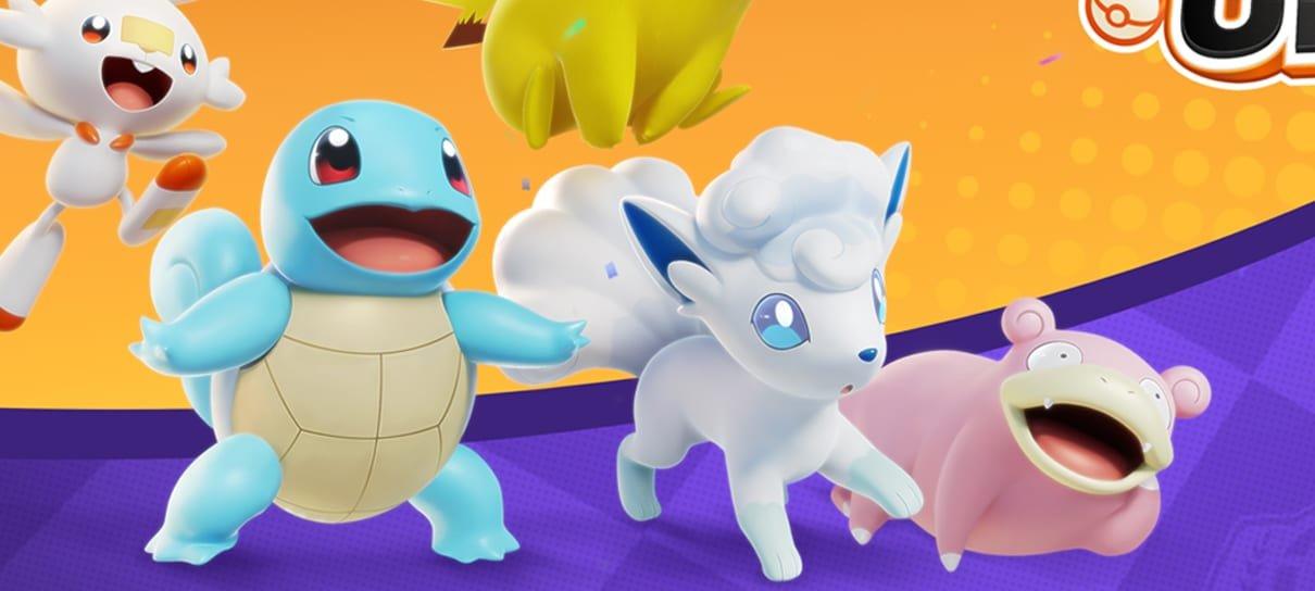 Pokémon Unite já pode ser pré-instalado no Nintendo Switch