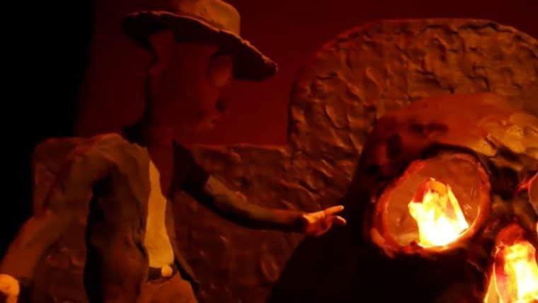 Rick and Morty: Dupla vira Indiana Jones em novo vídeo stop motion