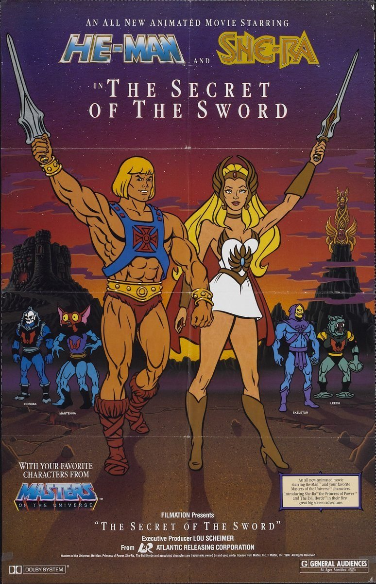 Cartaz de He-Man and She-Ra in the Secret of the Sword