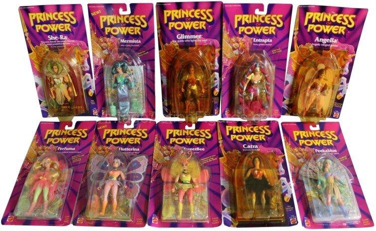 Linha de bonecos Princess of Power (Divulgação/Mattel)