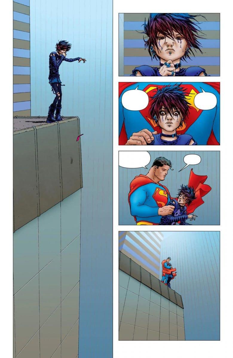 Cena da HQ Grandes Astros: Superman (Divulgação/DC Comics)