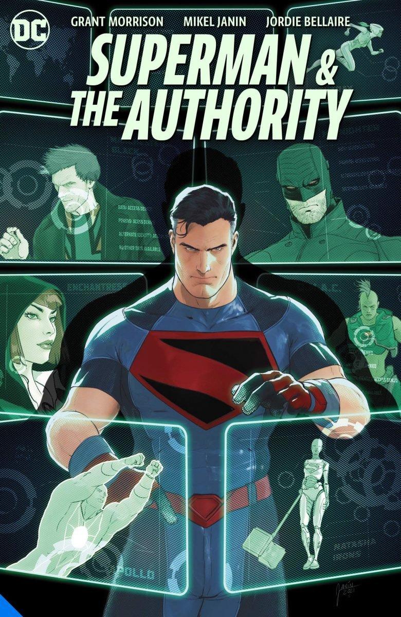 Capa de Superman & The Authority (Divulgação/DC Comics)