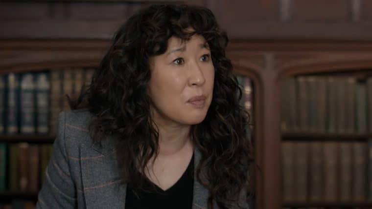 Sandra Oh tenta conter caos em universidade no trailer de The Chair