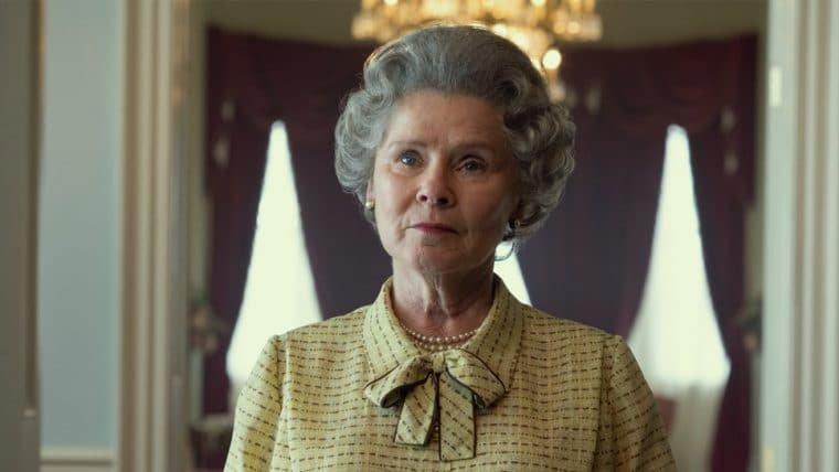 Netflix revela primeira imagem de Imelda Staunton como Rainha Elizabeth II em The Crown