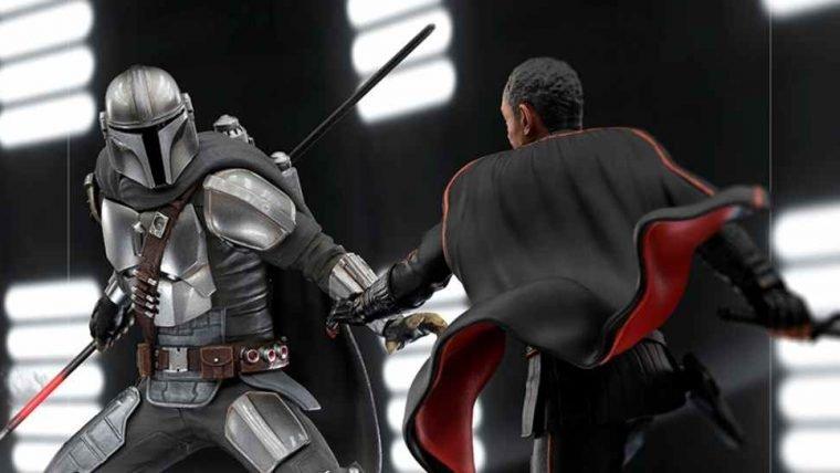 The Mandalorian ganha colecionáveis de batalha entre Mando e Moff Gideon