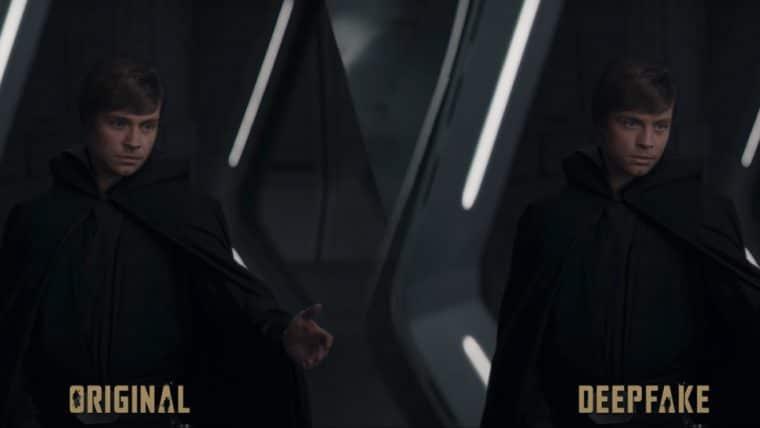 LucasFilm contratou YouTuber que usou deepfakes para melhorar visual de Luke Skywalker