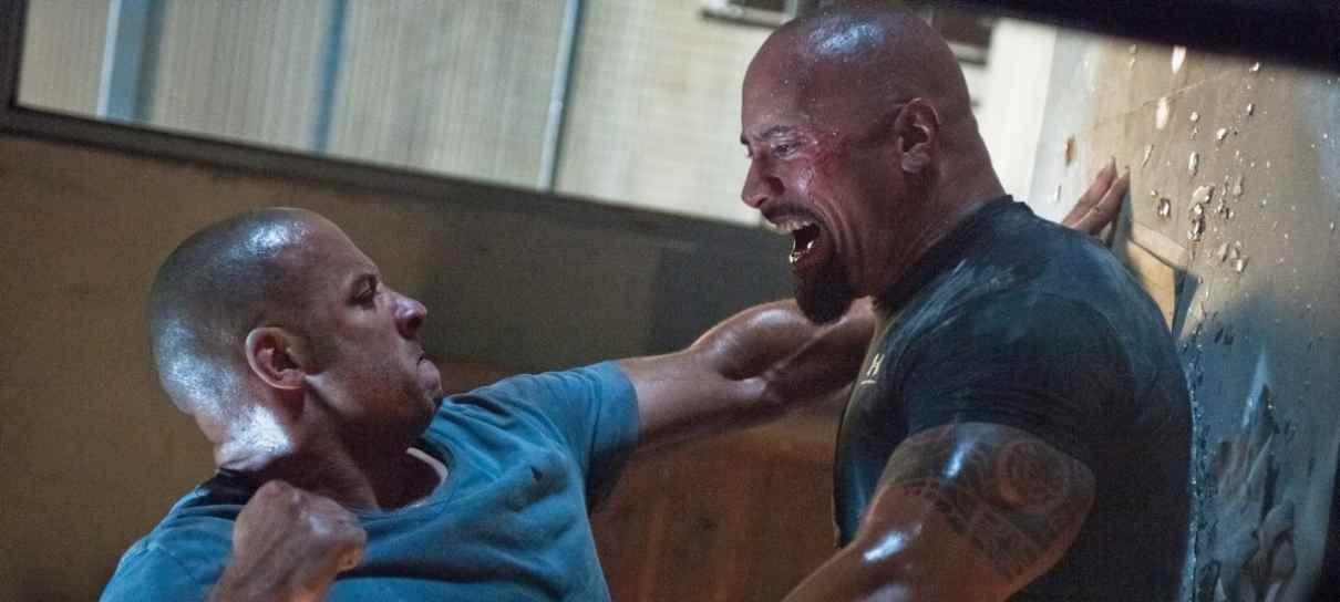 The Rock responde aos comentários de Vin Diesel sobre briga em Velozes e Furiosos