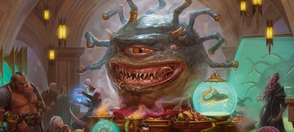 Versão física da coleção de Magic: The Gathering baseada em D&D entra em pré-lançamento