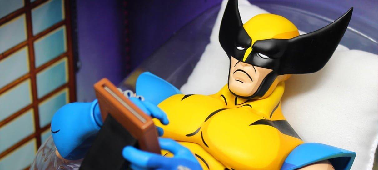 Meme do Wolverine no desenho clássico dos X-Men vira colecionável
