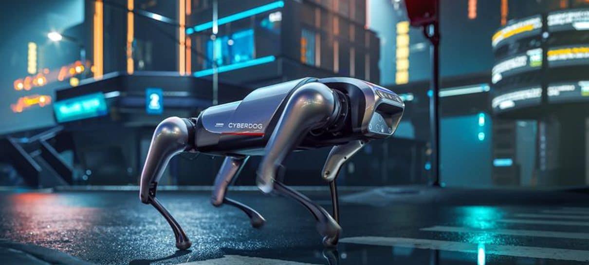 Xiaomi anuncia CyberDog, o cachorro robô da empresa