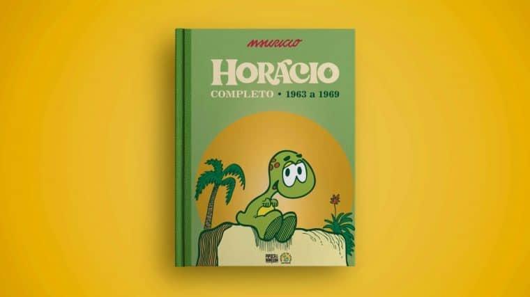 Capa do primeiro volume de Horácio Completo (Divulgação)