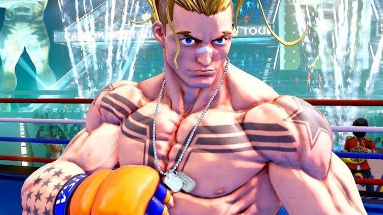 Luke é o futuro de Street Fighter V