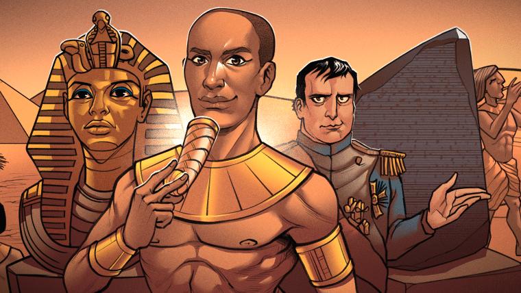 Egiptologia: Tutancamon, Napoleão e Durepox arqueológico