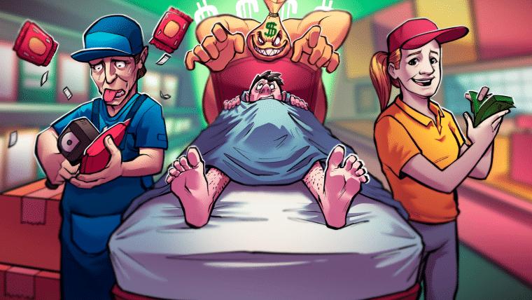 O inevitável monstro da inflação