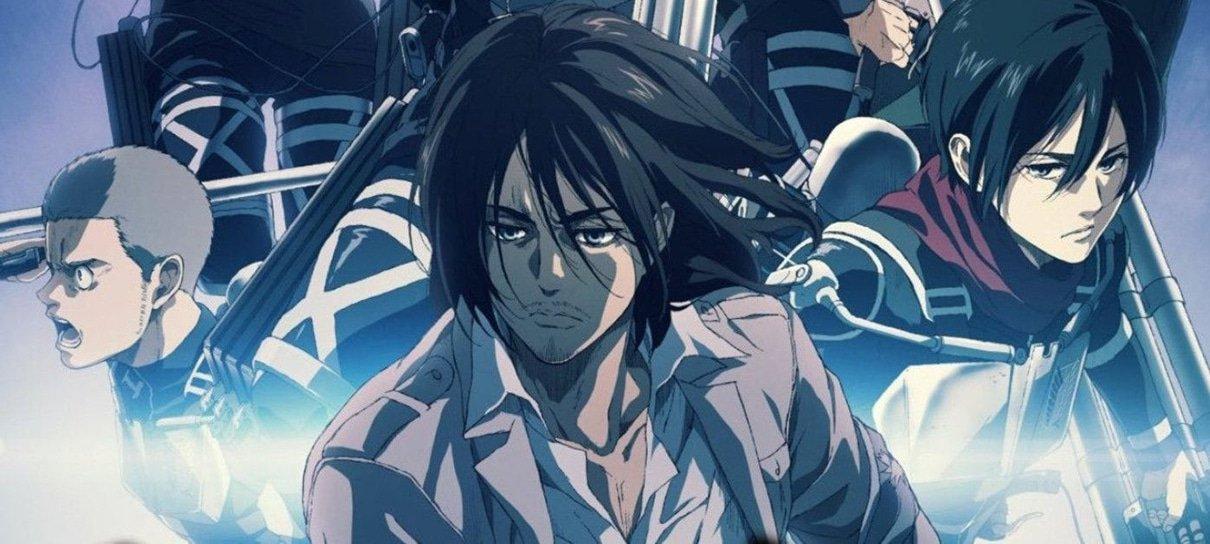 Parte final de Attack on Titan estreia em janeiro e terá episódio especial