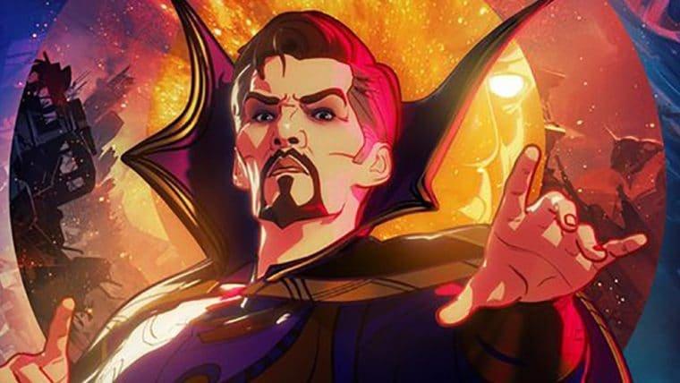 Versão do Doutor Estranho é destaque em cartaz do novo episódio de What If...?