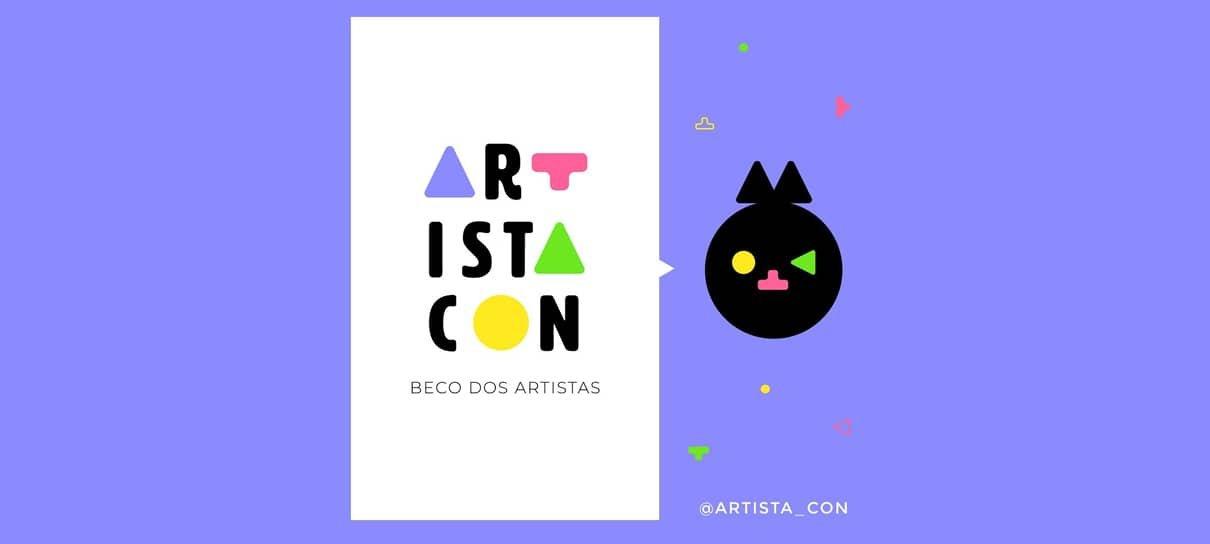 Artista Con vai reunir artistas de todo o Brasil em feira gratuita e online em setembro
