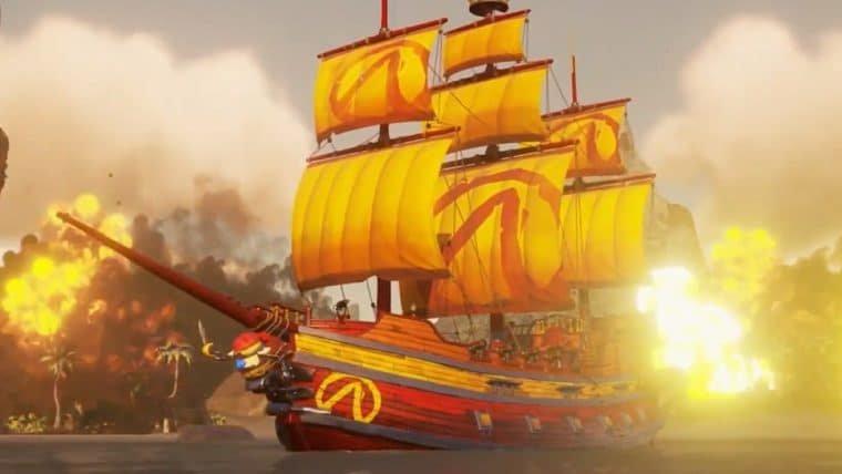 Sea of Thieves terá navio inspirado em Borderlands